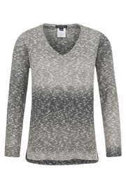 Tribal Muted V-Neck Sweater - Front cropped