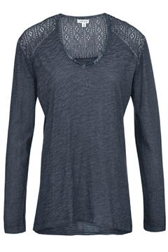 Shoptiques Product: Navy Faded Top