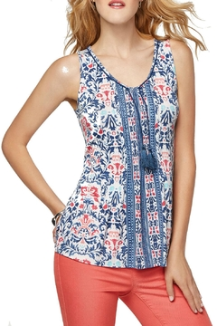 Tribal Navy Print Top - Product List Image