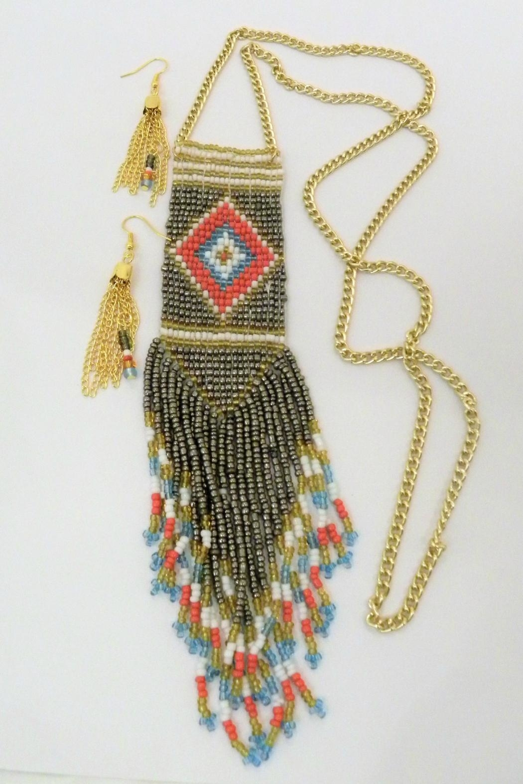 Mimi's Gift Gallery Tribal Necklace Set - Main Image