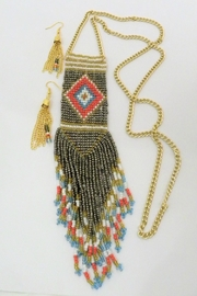 Mimi's Gift Gallery Tribal Necklace Set - Front cropped
