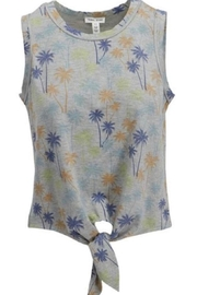 Tribal Palm Tie Top - Product Mini Image