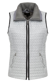 Tribal Patterned Quilted Vest - Product Mini Image