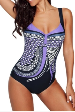 Shiying Fashion TRIBAL PRINT ONE-PIECE SWIMSUIT - Product List Image