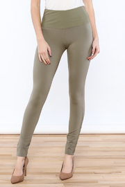 Tribal Moss Green Legging - Product Mini Image
