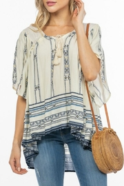 ALB Anchorage Tribal Printed Blouse - Product Mini Image