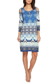 Tribal Printed Keyhole Dress - Product Mini Image