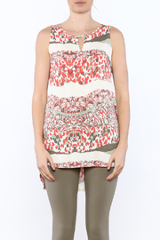 Tribal Printed Tunic Top - Side cropped