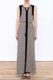 Tribal Print Maxi Dress - Front cropped