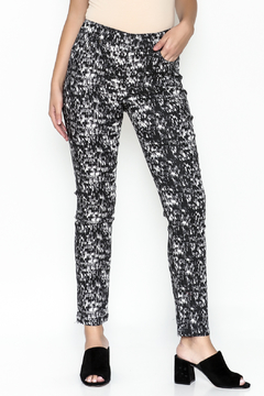 Shoptiques Product: Printed Pull On Jeggings