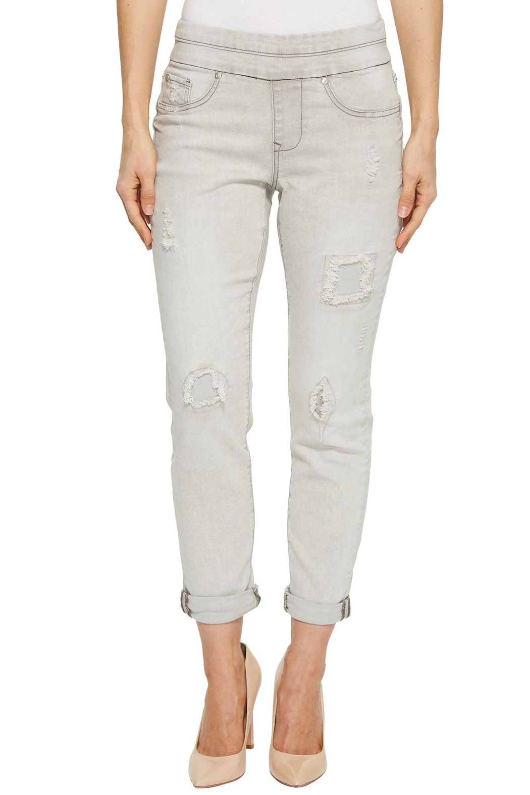 Tribal Pull On Jeans - Main Image