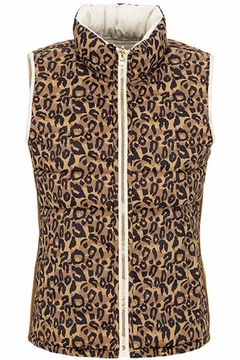 Tribal Reversible Animal Print Vest - Product List Image