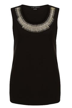 Shoptiques Product: Sleeveless Black Shirt