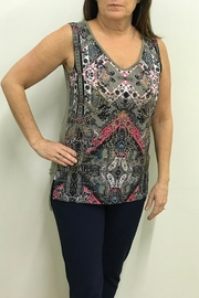 Tribal Sleeveless V-Neck - Product Mini Image