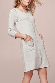 Tribal Soft Grey Dress - Product Mini Image