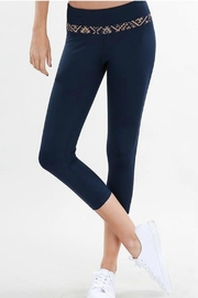 Nikibiki  Tribal Stripe Capri Workout Pant - Product Mini Image