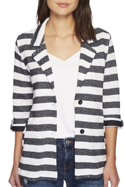 Tribal Stripe Boyfriend Jacket - Product Mini Image