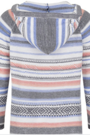 Tribal Striped Hoodie - Product Mini Image