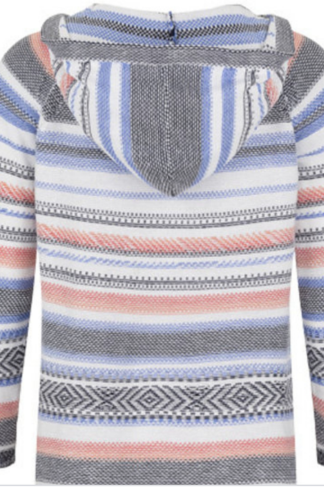 Tribal Striped Hoodie - Main Image