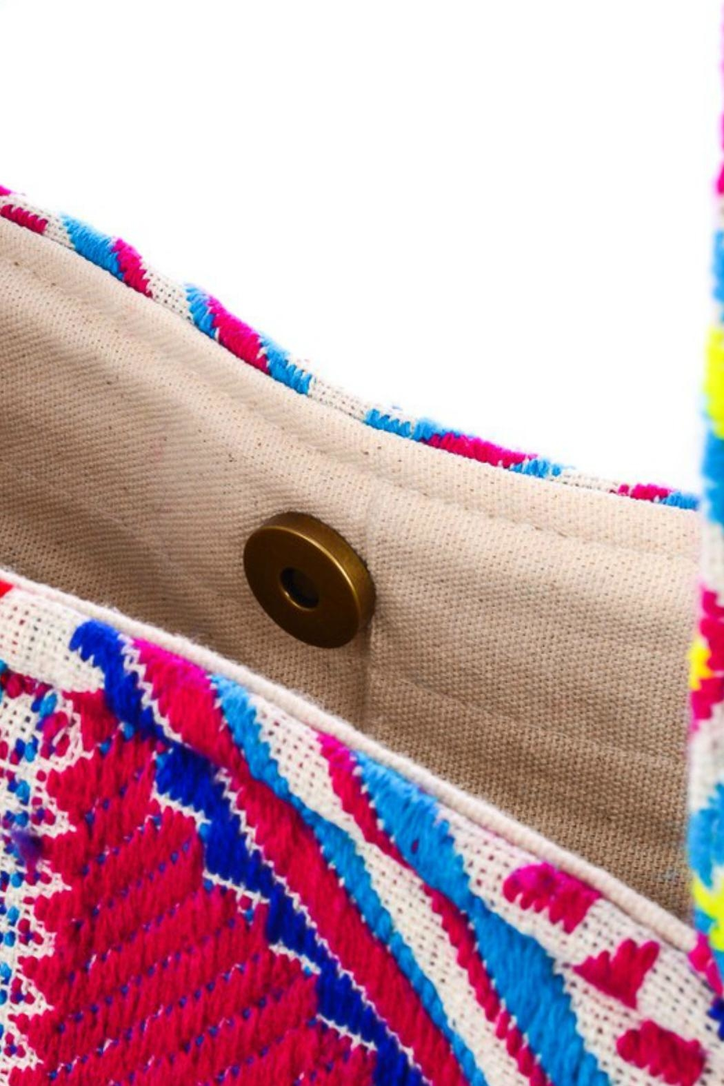 Imagine That Tribal Tote Bag - Side Cropped Image