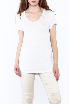 Shoptiques Product: White Basic Tunic Top