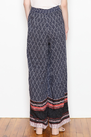Tribal Wide Leg Pant - Back cropped