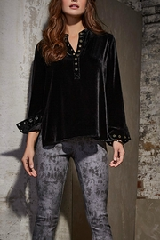 Tribal Jeans Black Velvet Tunic - Product Mini Image