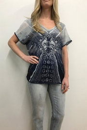 Tribal Jeans Boho Blouse - Product Mini Image