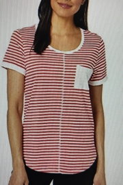 Tribal Jeans Candy Stripe Tee - Product Mini Image