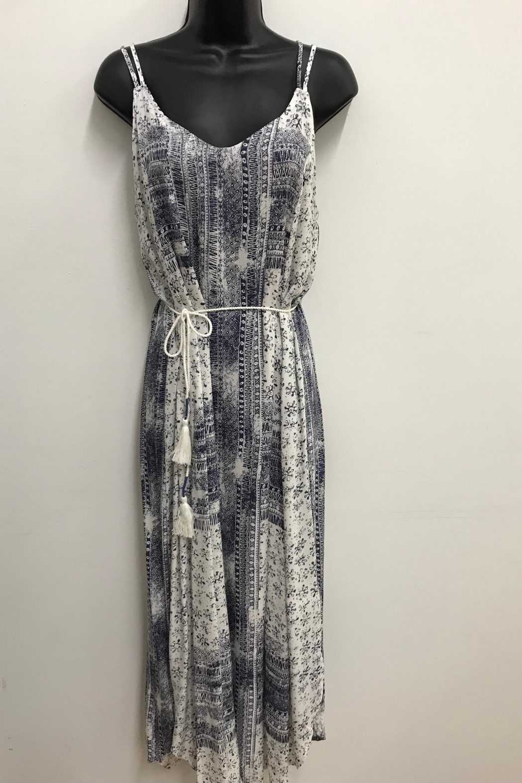 Tribal Jeans Cool Hippie Dress - Front Full Image