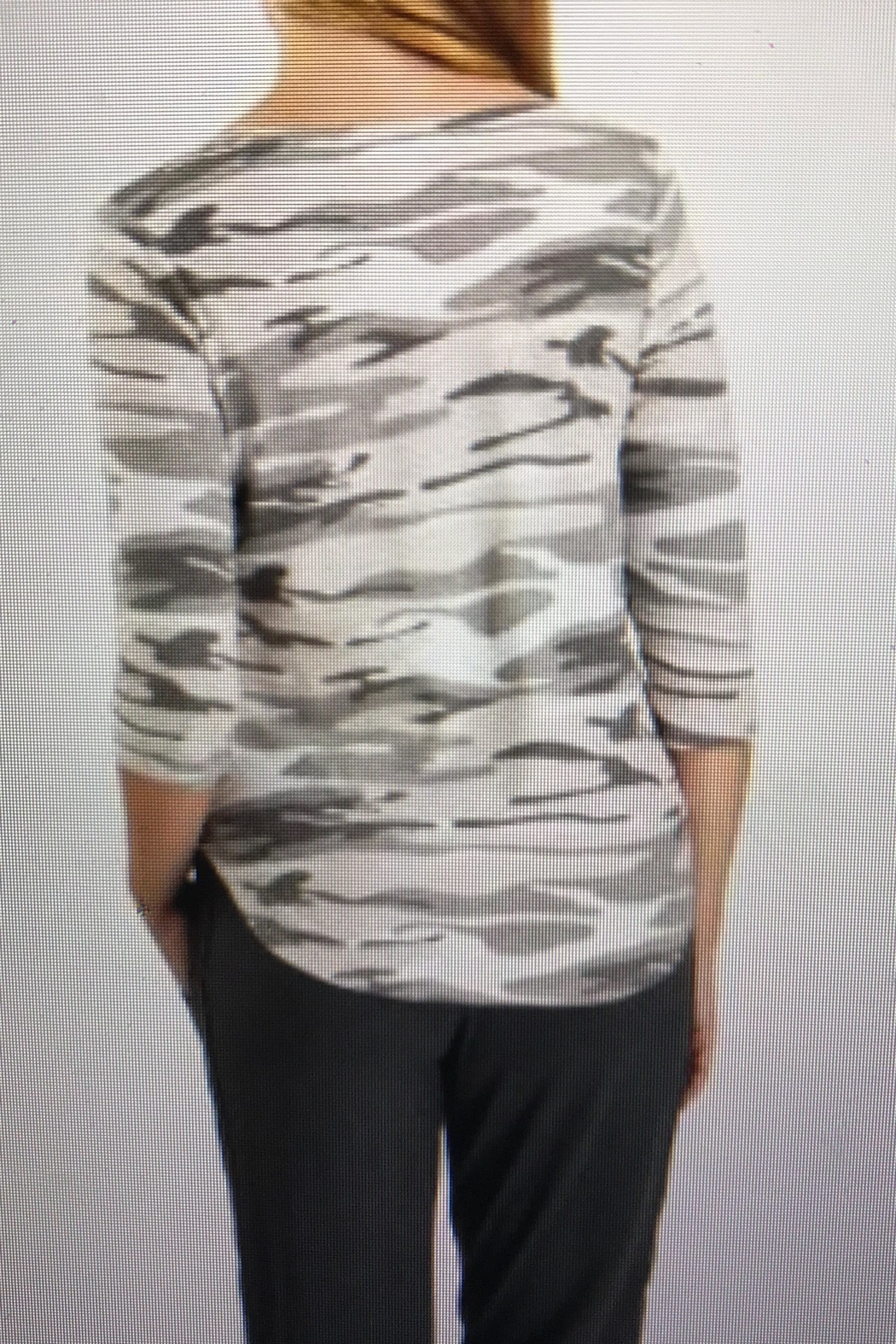 Tribal Jeans Cute Camo Top - Front Full Image