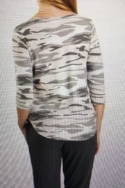 Tribal Jeans Cute Camo Top - Front full body