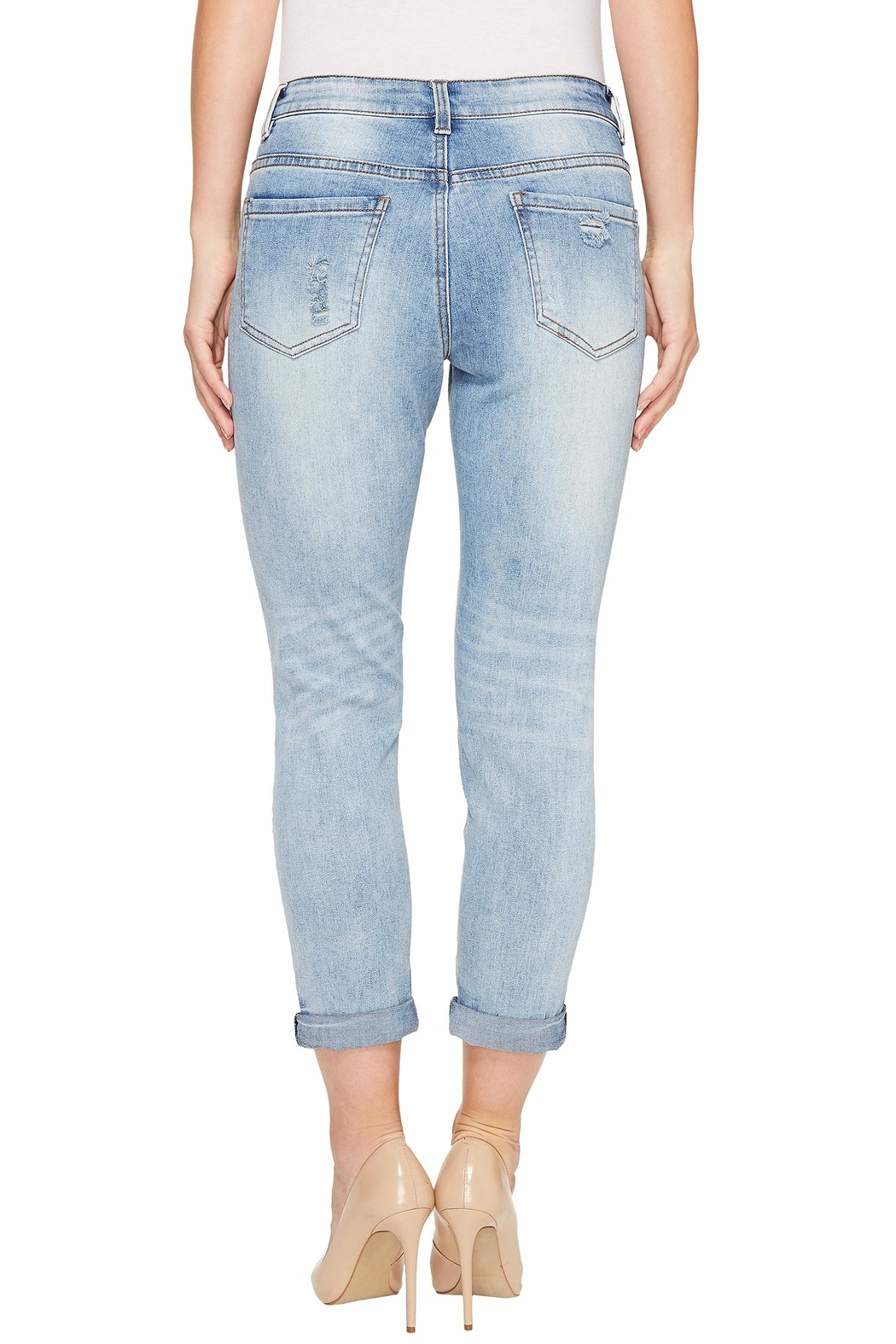 Tribal Jeans Distressed Boyfriend Jeans from Massachusetts by ...