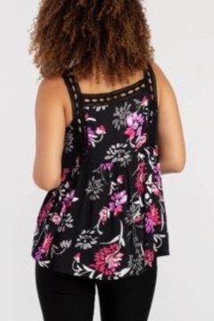 Tribal Jeans Flirty Floral Tank - Alternate List Image