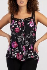 Tribal Jeans Flirty Floral Tank - Product Mini Image