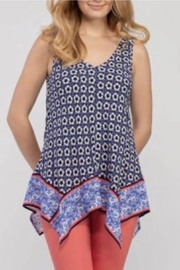 Tribal Jeans Handkercheif Tank Top - Product Mini Image