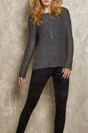 Tribal Jeans Novelty Tweed Sweater - Product Mini Image