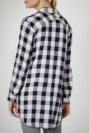 Tribal Jeans Picnic Plaid Shirt - Front full body