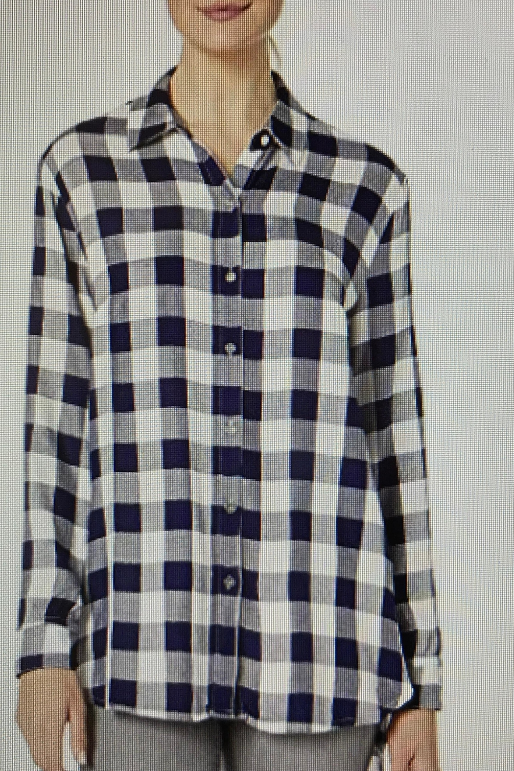 Tribal Jeans Picnic Plaid Shirt - Main Image