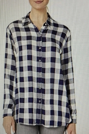 Tribal Jeans Picnic Plaid Shirt - Front cropped