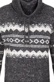 Tribal Jeans Ski Lodge Sweater - Front cropped