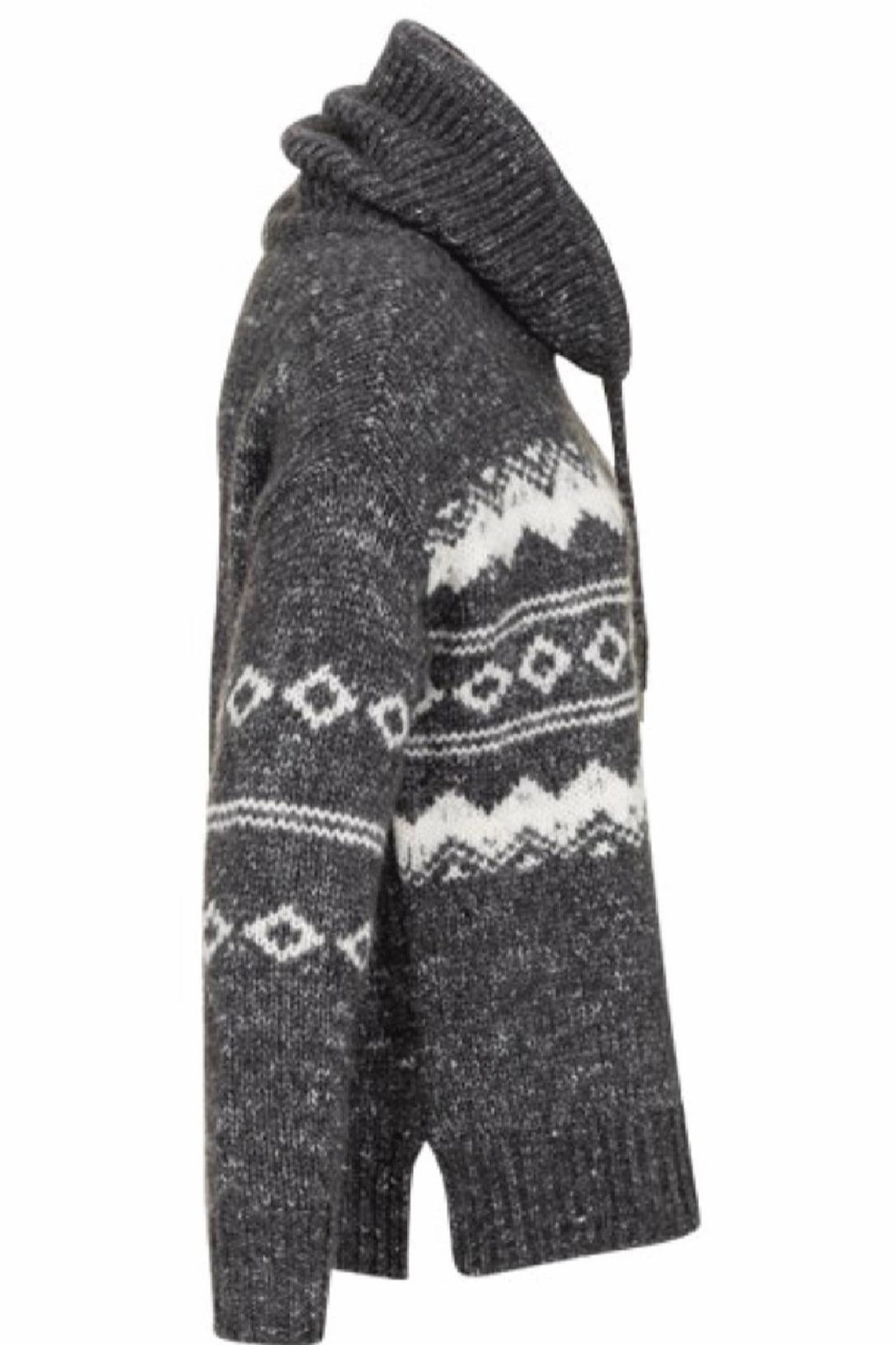 Tribal Jeans Ski Lodge Sweater - Front Full Image