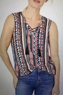Shoptiques Product: Tank With Tassels