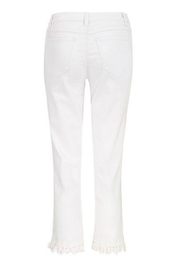 Tribal Jeans White Cropped Jean - Side cropped