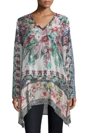 Johnny Was Tribeca Silk Tunic - Product Mini Image