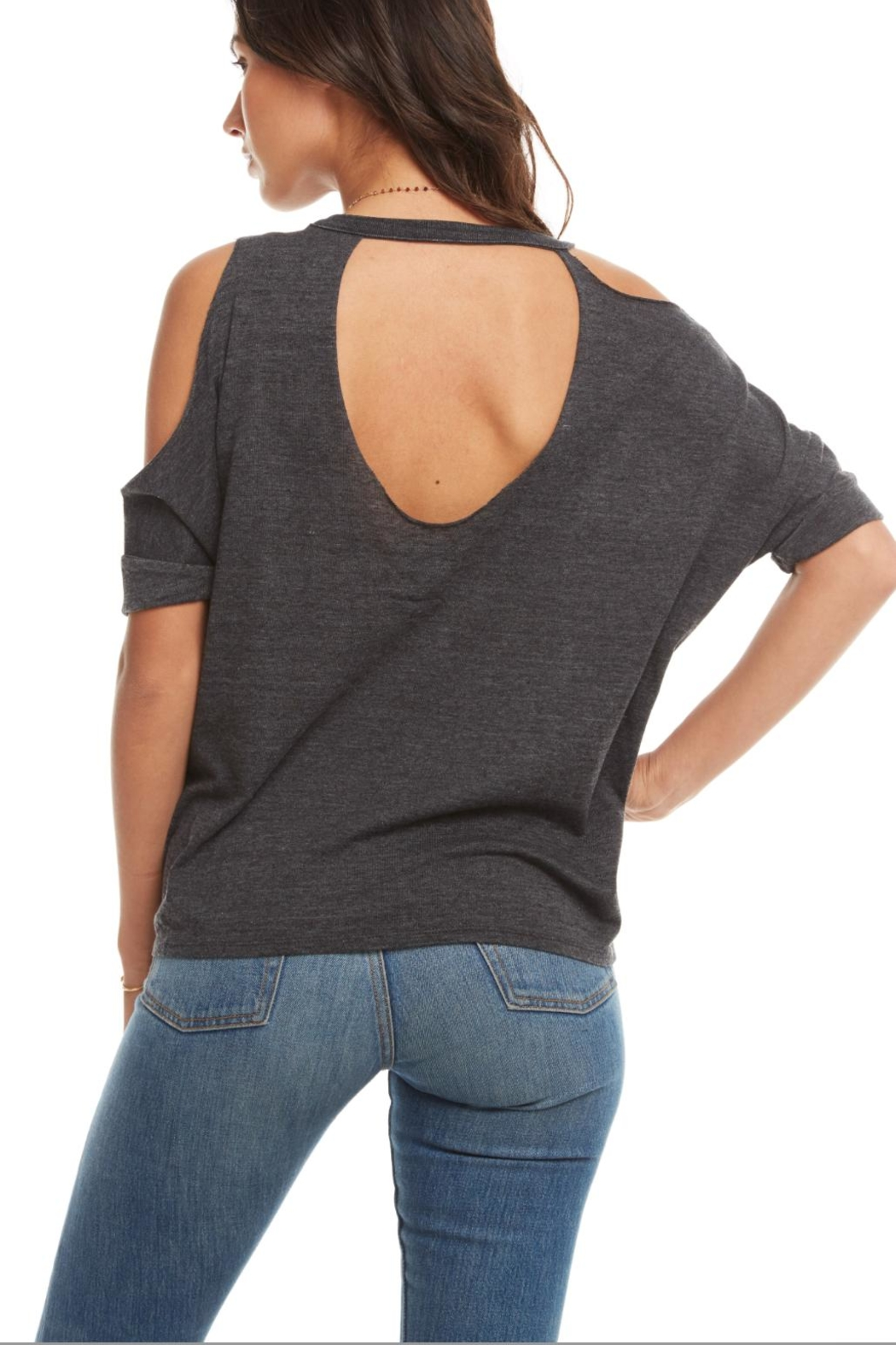 Chaser Triblend Deconstructed Dolman - Front Full Image