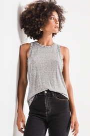 z supply Triblend Racer Tank - Product Mini Image
