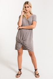 z supply Triblend Side Knot Dress - Product Mini Image
