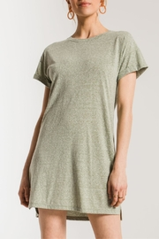 z supply Triblend T-Shirt Dress - Front cropped