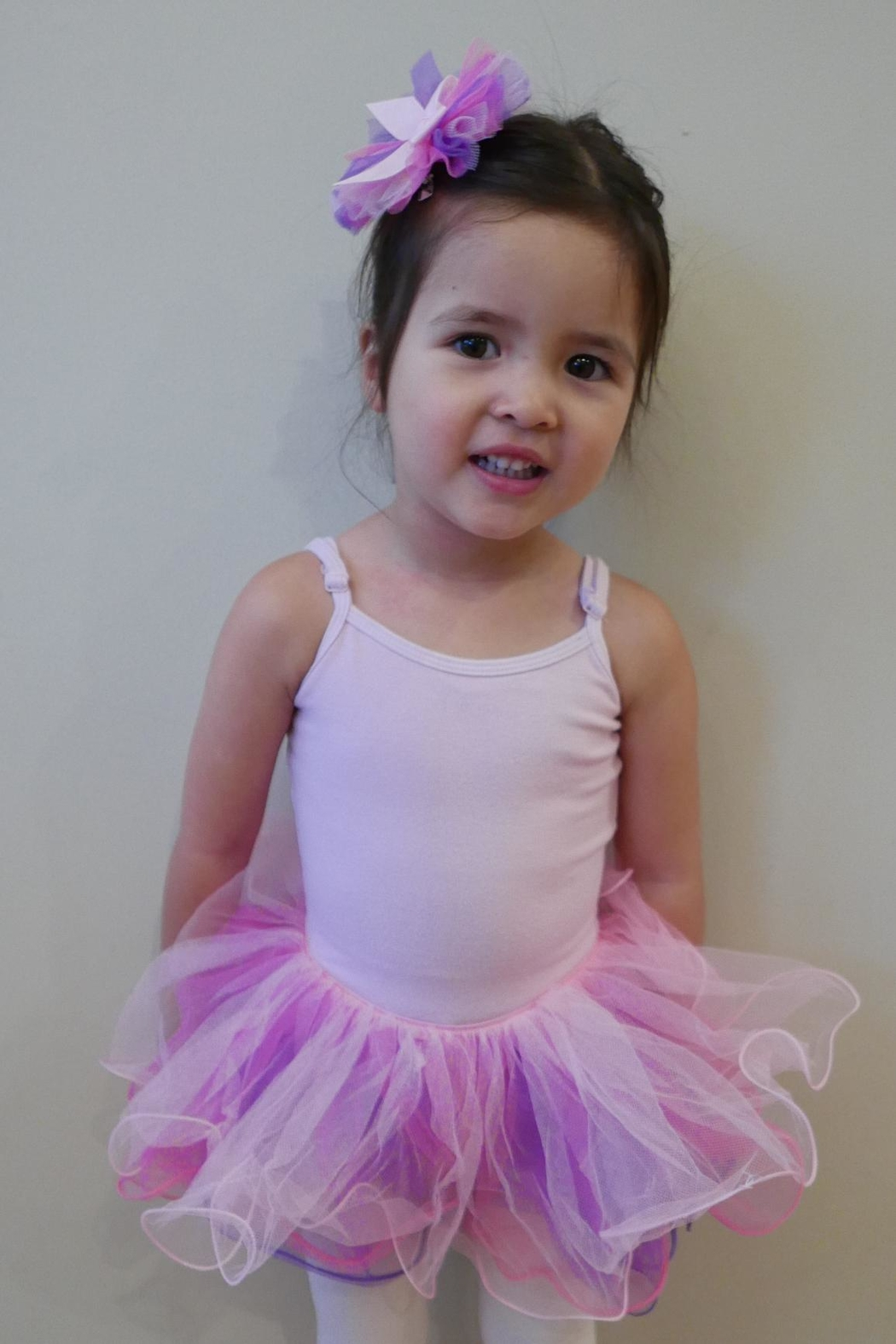 Dasha Tricolor Tutu W/hairclip - Front Cropped Image